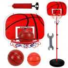 Basketball Stands Height Adjustable Kids Basketball Goal Hoop Set As shown