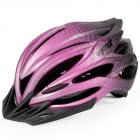 Bicycle Helmet Eps Mountain Bike Riding Helmet Skateboard  Safety  Helmet  With Light Black purple_Free size