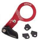 Bike Chain Guide MTB Bicycle Chain Guide Single Speed Wide Narrow Gear Chain Guide red