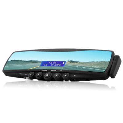 Wholesale bluetooth rearview mirror car mirror bluetooth for Miroir wireless