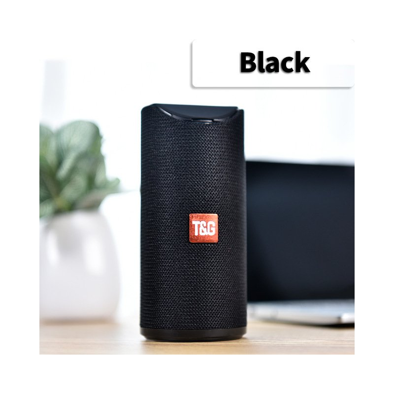Bluetooth Speaker Portable Built In Battery Pluggable Card Wireless Speaker black