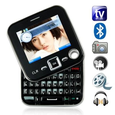 Dual SIM Swivel Screen with QWERTY keyboard