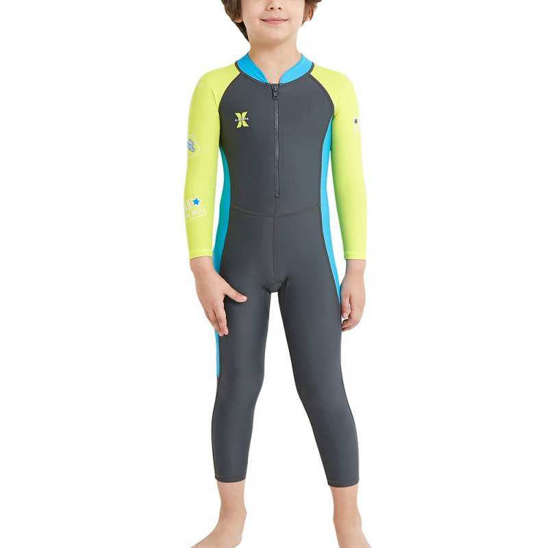 Wetsuit One Piece Swimsuit UV Protection