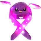 Bright Light Lovely Cartoon Jumping Animal Ears All Matching Hat Air Bladder Cap Rabbit purple