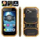 Buy HK Warehouse Ken Xin Da W6 Rugged Smartphone - IP68 Waterproof, Dust Proof, Shock 4G, Android 5.1, Dual SIM (Yellow)
