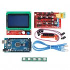 Buy Arduino 3D Printer Controller Kit - Mega 2560 Board, RAMPS 1.4 5 Steppers, SD Card Slot, 12V, 180W