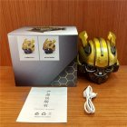 Bumblebee Helmet Bluetooth Speaker Fm Radio Usb Mp3 TF Smart Subwoofer Blue Tooth 5.0 Portable Mini Wireless Stereo Loudspeakers As shown