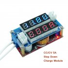CC/CV Adjustable Step Down Charge LED Panel Voltmeter Ammeter Display Module 5A step-down transformer