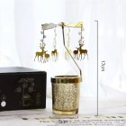 Candle  Holder Modern Girl Wrought  Iron  Glass Candlestick Candlelight  Dinner  Props j