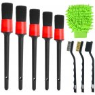Car Detailing Brush Set Car Wash Tools Auto Detail Brush Kit for Car Motorcycle Cleaning