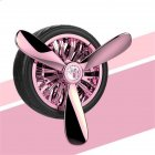 Car Outlet Air Vent Freshener Perfume Fragrance Auto Decoration Tire Shape Car Styling Pink