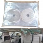 Car Protective Film Transparent Self-Adhesive Taxi Isolation Film Protective Cover Partition Protection Screen