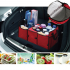 Car Trunk Storage Bag Oxford Cloth Folding Truck Organizer Storage Box with Cooler Bag Travel Tidy Bags For Auto Van SUV