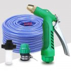 Car Wash Water Sprayer Set High Pressure Car Wash Kit For Vehicle Cleaning Clean Pipe Washer Home Garden 10m tube + Water Sprayer  + universal joint + foam pot