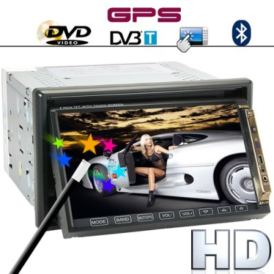 7 Inch 2DIN GPS Car Stereo Player - Road King