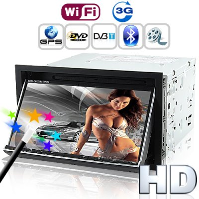 7 Inch Car 3G DVD Player - Road Emperor