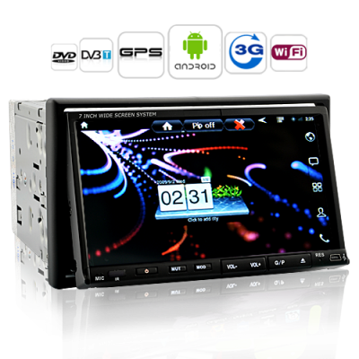 Knight Rider Android Car DVD Player