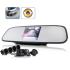 Car Rear View Mirror   Parking Sensor And Camera
