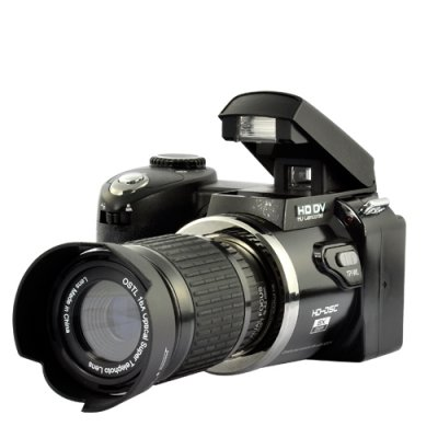Digital Camera with Telescope Zoom