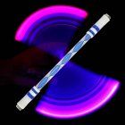 Children Colorful Special Illuminated Anti-fall Spinning Pen Rolling Pen  A15 blue (lighting section)