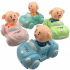 Children Cute Cartoon Inertia Car Mini Funny Pig Toy Car Gifts (Random Color)