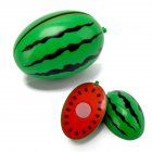 Children Cute Pretend Play Simulation Fruit Vegetable Set for Kids   watermelon