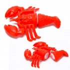 Children Cute Pretend Play Simulation Fruit Vegetable Set for Kids   lobster