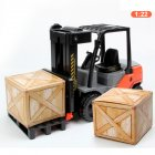 Children Inertial Plastic Forklift Simulation Engineering Car Toys as Gifts forklift