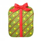 Christmas Chair Cover Cartoon Pattern Bowknot Non-woven Chair Back Cover Decoration