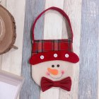 Christmas Coin Purse Wallet Bag Souvenirs Christmas Gifts for Guests Kids Xmas Gift Party Favors Present Supplies Snowman