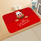 Christmas Doormat Kitchen Mat Non Slip Rug Decoration for Home Happy New Year Xmas Ornaments 40 60cm