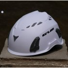 Climbing Helmet Professional Mountaineer Rock MTB Helmet Safety Protect Outdoor Camping Hiking Riding Helmet White  56cm 62cm