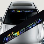 Colorful Reflective Decoration Decals Car Stickers Styling Front Windshield Decal Sticker  Style 5