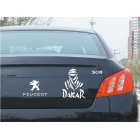 Letters Reflective Fashion Car Decals