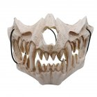 Cosplay Latex Mask Photo Prop for Halloween Party Performance Art Mask  1#
