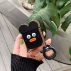 Cute Cartoon Earphone Case for Airpods Black