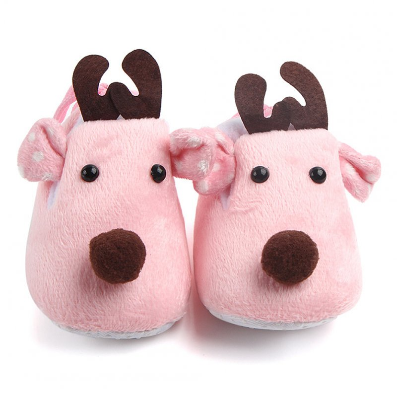 Cute Elk Design Baby Ultra Soft Shoes