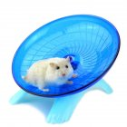 Cute Mute Hamster Toy Stable Wheel Roller