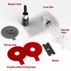 DIY Car windshield repair kit