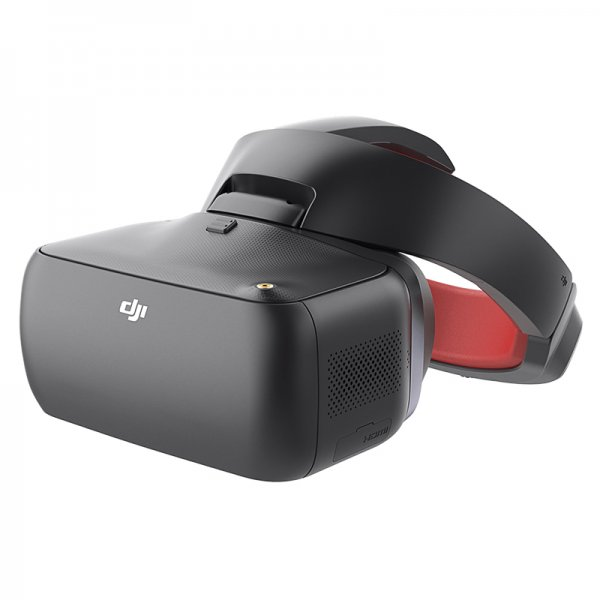 DJI Racing Edition VR Goggles - FPV, Superior Imaging Sensor,  2.4 & 5.8GHz,  7km Range, Touch Button Controls