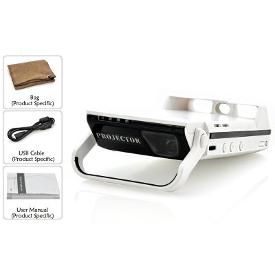 Dlp video projector for iphone 6 6s ibeam 60 inch for Best portable projector for iphone 6