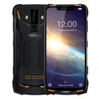 DOOGEE S90 Pro IP68/IP69K Rugged Mobile Phone Android 9.0 Smartphone 6.18'' FHD+ Display Helio P70 Octa Core 6GB 128GB 16MP Cam Orange_Russian version