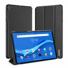 DUX DUCIS for Lenovo M10 Plus 10.3 Fall Resistant Leather Smart Stay Cover Protective Case black