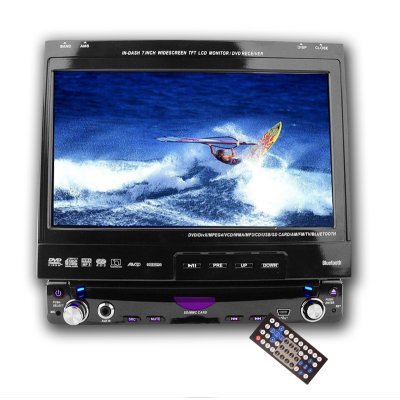 Large Screen Car DVD Player