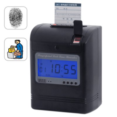 Fingerprint Time Card Recorder