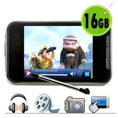 16GB MP4/MP3 Player