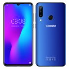 Doogee N20 4G Smartphone 6 3  Waterdrop Screen Mobile Phone 4GB 64GB Octa Core 16MP Triple Rear Cameras 4350mAh 10w Quick Charge blue