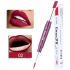 Double Head Lipstick Lip Liner Pen Waterproof Long-lasting Lip Liner Contour Pen  02