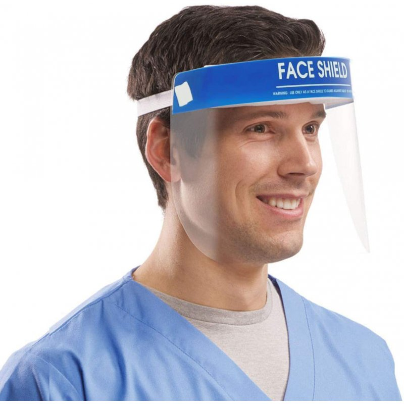 Double-sided Anti-fog Protection Face Shield