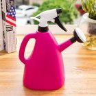 Dual Purpose Large Size Hand Press Spraying Kettle for Home Gardening Rose red